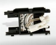 Abfrage Tankanzeige mit eingespritztem Blech 0,15mm dick.