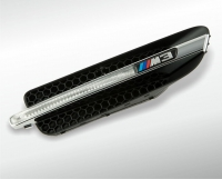 BMW M3 chrome trim element with housing