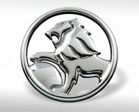 Chrome-plated Holden emblem