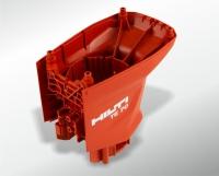 Hammer drill motor housing