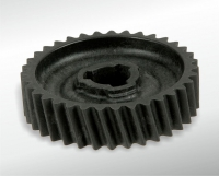 Helical-cut gear