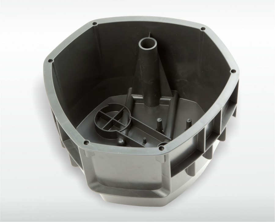 Rasensprengergehäuse mit hydraulischer Ausschraubeinheit