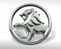 Verchromtes Emblem Holden